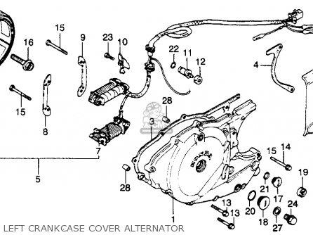 Honda Rebel Crankcase Diagram