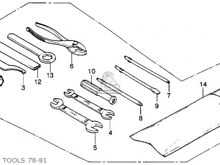 Partslist on 1979 Honda Xl250s Parts