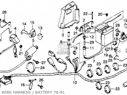 honda xl250s 1980 a usa parts list partsmanual partsfiche. Black Bedroom Furniture Sets. Home Design Ideas