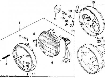 honda xl250s 1981 b usa parts list partsmanual partsfiche. Black Bedroom Furniture Sets. Home Design Ideas