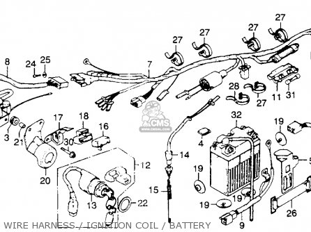 1975    Honda       xl250       wiring       diagram