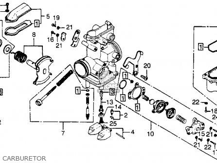1978 fiat carburetor diagrams 1978 ford bronco vacuum diagrams honda xl350 1978 usa parts list partsmanual partsfiche