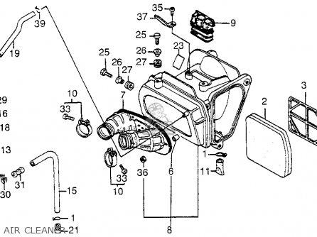 Honda Xl350r 1984 Usa Crankshaft Piston