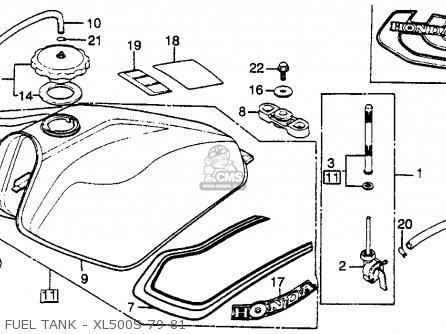 honda xl500s 1979 (z) usa parts lists and schematics honda xl 500 s wiring diagram 2007 ford 500 stereo wiring diagram #12