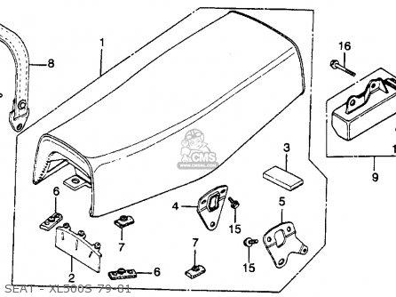 honda xl500s 1979 z usa parts list partsmanual partsfiche. Black Bedroom Furniture Sets. Home Design Ideas