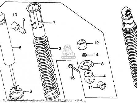 honda xl500s 1980 a usa rear shock absorber xl500s 79 81_mediumhu0123f5z20_d8fc obd2 pinout diagram images ecu pinout diagram gm forum buick,Obd2 Plug Wiring Diagram