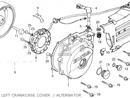 Honda Xl600r 1983 D Usa Parts List Partsmanual Partsfiche