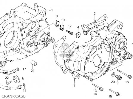 Honda Xl600r 1984 E Usa Parts Lists And Schematics