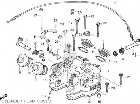 honda xl600r 1984 e usa parts list partsmanual partsfiche. Black Bedroom Furniture Sets. Home Design Ideas