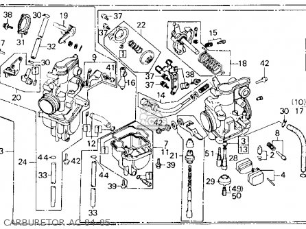 Honda Xl600r 1985 F Usa Parts Lists And Schematics