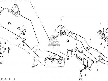 honda xl600r 1985 f usa parts lists and schematics Rare Is a Honda XR 200 honda xl600r 1985 f usa muffler