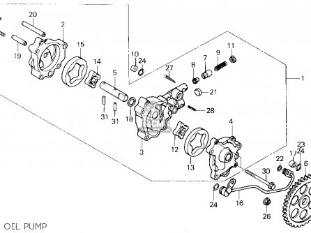 honda xl600r 1985 f usa parts lists and schematics Street-Legal Is the Honda XL600R honda xl600r 1985 f usa oil pump