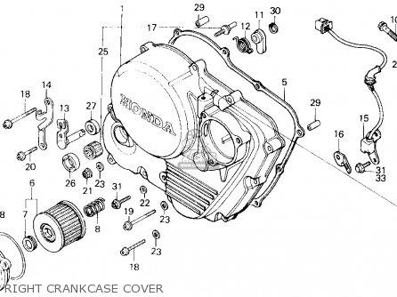 Honda Xl600r 1985 F Usa Parts Lists And Schematics. Honda Xl600r 1985 F Usa Right Crankcase Cover. Honda. Wire Diagram 1985 Honda Xl600r At Scoala.co