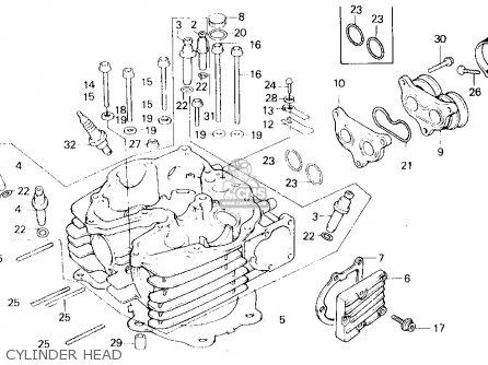 52589 1986 Honda Xl600r Carburetor