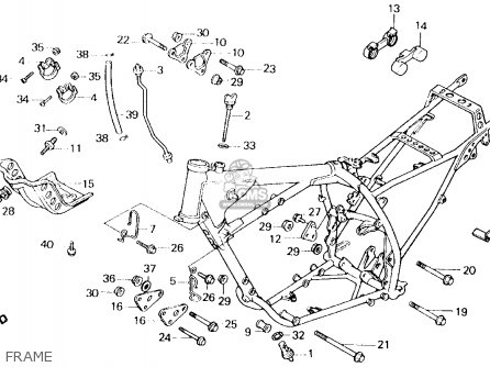 Honda Xl600r 1987 H Usa Parts List Partsmanual Partsfiche