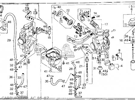 Honda Xl600r 1987 Usa Carburetor Ac 86-87