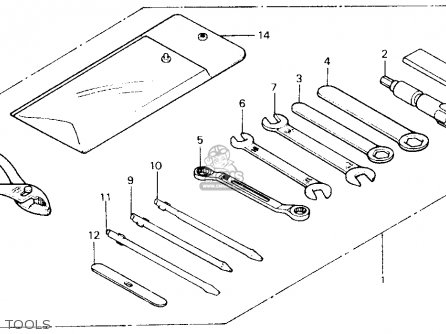 Honda Xl600v Transalp 1989 k Usa Tools