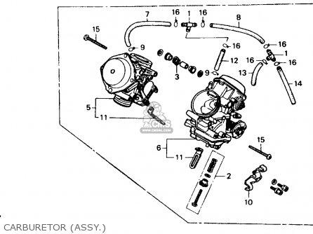 Honda Xl600v Transalp 1989 Usa Carburetor assy