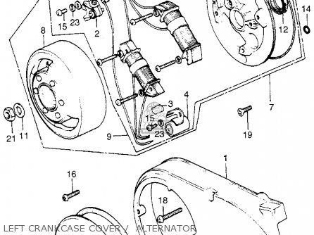 Honda Xl70 K0 1976 Usa Parts Lists And Schematics