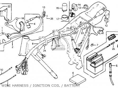 Honda S65 Clymer Wiring Diagram