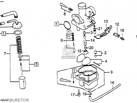 Honda Xr E Usa Carburetor Mediumhu E B Dba on Honda Body Parts Diagram