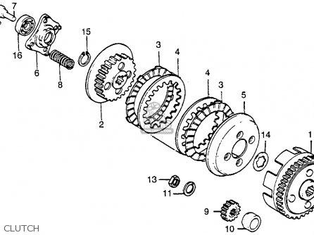 Honda Xr100 1984 Usa parts list partsmanual partsfiche