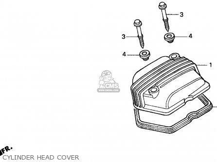 Honda Xr100r 1993 p Usa Cylinder Head Cover