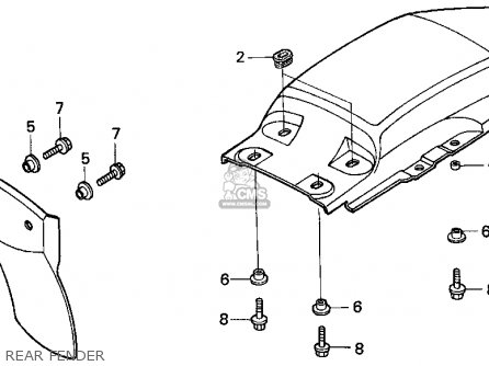 Honda Xr100r Engine Diagram