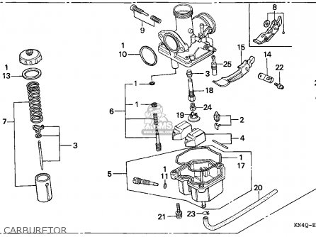 honda xr100r 1998 (w) european direct sales parts list ... 2006 honda foreman wiring diagram honda xr100 wiring diagram