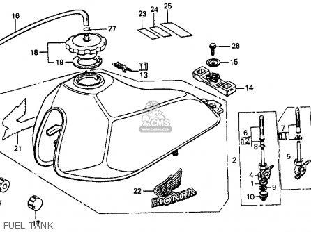 Honda Xr200 1980 A Usa Parts Lists And Schematics
