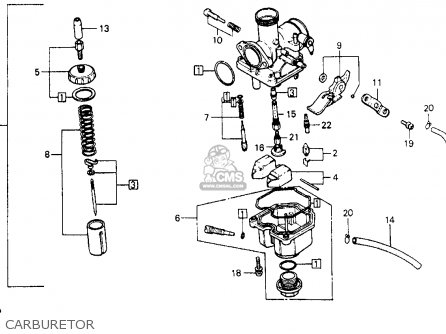 Warn Winch Wiring Harness as well Partslist furthermore Gl1200 Wiring Diagram together with Yamaha Motorcycle Carburetor Parts moreover 1983 Honda Xr200r Wiring Diagram. on wiring diagram honda xr200