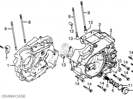 honda xr200r 1982  c  usa parts list partsmanual partsfiche