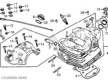 Honda Xr200r 1982 C Usa Parts Lists And Schematics