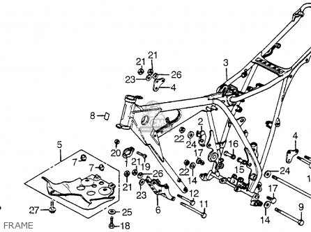 honda-xr200r-1982-c-usa-frame_mediumhu0158f2b24_e299  Honda Xr Wiring Diagram on 9-pin wiring diagram, yamaha mower wiring diagram, sym cdi ignition wiring diagram, 05 mustang horn wiring diagram, honda cr250 clutch assembly diagram,