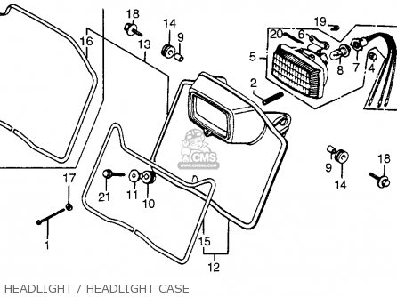 honda xr 200 carburetor diagram
