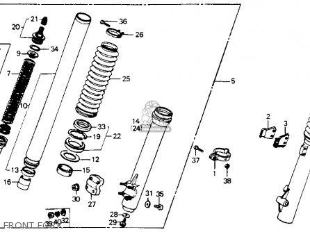 honda xrr   usa parts list partsmanual partsfiche