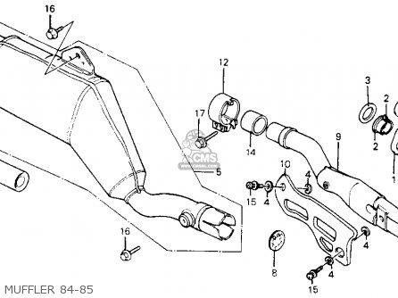 Honda Xr200r 1985 F Usa Parts Lists And Schematics