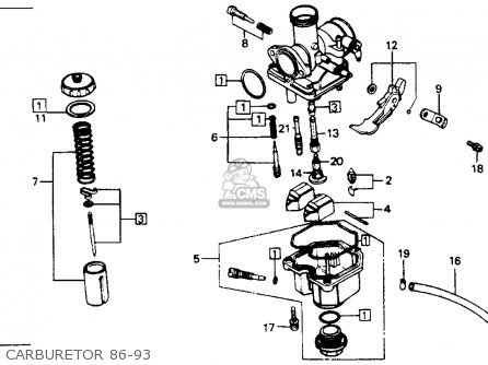 86 Xr250 Wiring Diagram