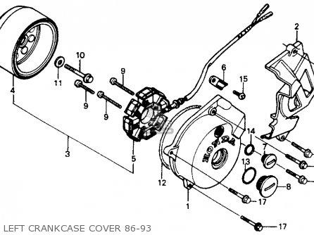 1996 Honda Xr200 Wiring Diagram