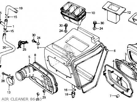 Honda Xr200r 1990 L Usa Parts Lists And Schematics