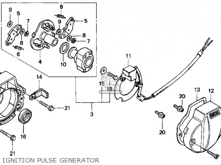 honda xr200r 1994 (r) usa parts list partsmanual partsfiche wiring diagram 1971 honda 750 four