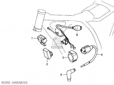 Honda Xr200r 1997 (v) Usa parts list partsmanual partsfiche on