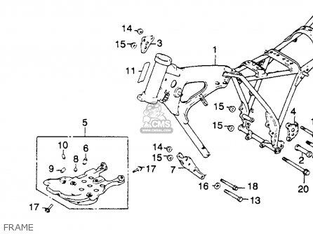 Parts For 1979 Honda Xr250 on honda xr80 wiring diagram