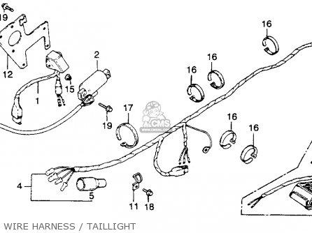 Honda Xr250 Wiring Diagram Honda XR250 Carburetor Wiring