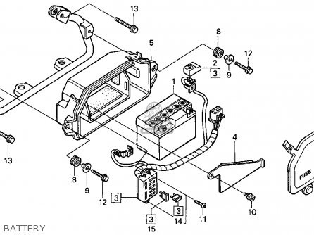 Honda Cr125 Wiring Diagram