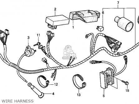 honda xr250l 1993  p  usa parts list partsmanual partsfiche