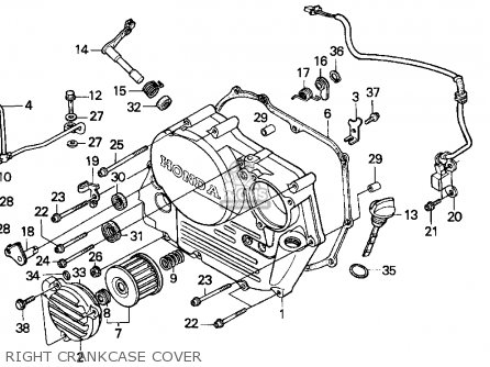 Honda Xr250l Engine Diagram on honda qa50 wiring diagram