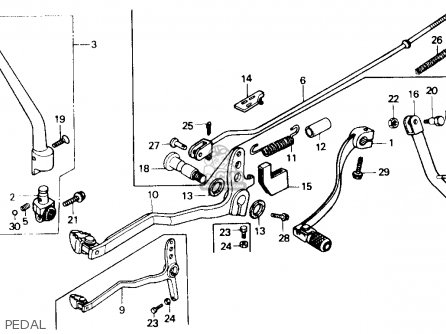 Honda Xr250r 1984 e Usa Pedal