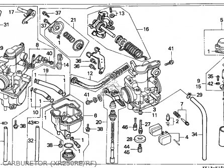Xr200r Wiring Diagram in addition Partslist additionally Honda Xr250r Parts in addition Honda Crf 50 Carburetor Schematic also  on wiring diagram 1984 honda xr250r