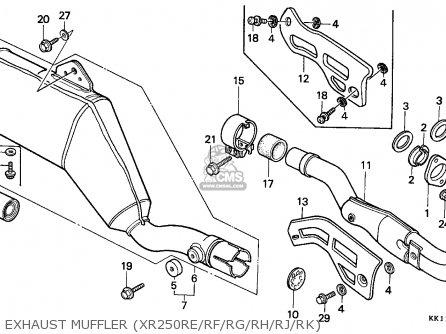 2002 Honda Crv Muffler